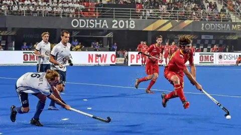 France draw with Spain in Word Cup Hockey
