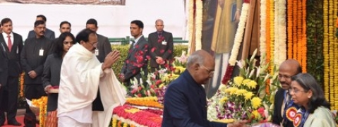 Prez, Vice Prez, PM pay tributes to Dr B R Ambedkar on his 63rd Maharparinirvan Diwas