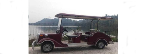 Eco-friendly battery car service at Jammu's tourist spot Mansar to boost tourism