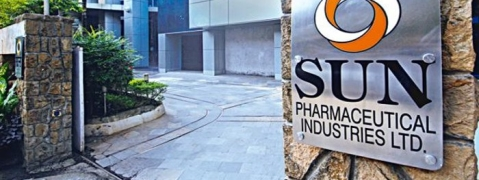 Sun Pharma dropped by 6.59 pc to Rs 413.60