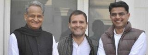 Rahul holds 3rd round of meeting with Gehlot, Pilot; CM announcement today