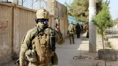 14 Afghan soldiers killed in army camp attack
