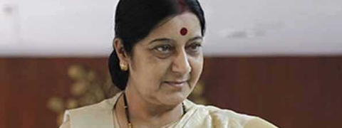 Sushma ridicules Rahul's 'knowledge on Hinduism'