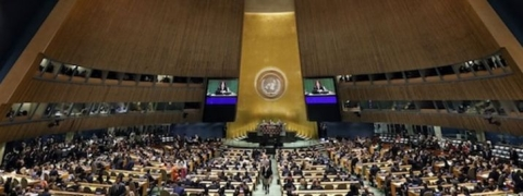 Hamas: US resolution to condemn activities voted down in General Assembly