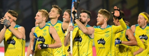 Australia script back wins in World Cup Hockey