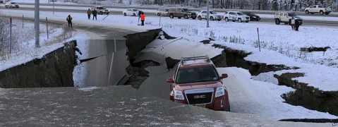 Trump declares state of emergency in Alaska post earthquake