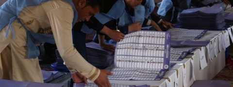 Afghan Election body rejects vote invalidation in Kabul