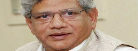 Yechury criticises Yogi Adityanath for 'communal' speeches, says hate atmosphere in UP