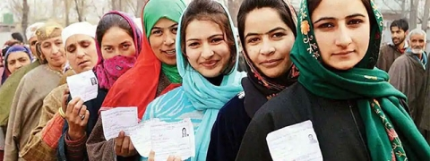 Voting for 8th phase of J&K panchayat polls begins