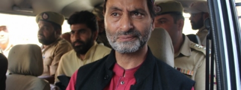 Yasin Malik arrested in Srinagar ahead of Republic Day