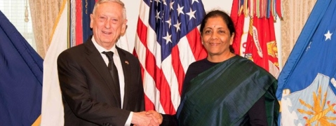 India, US to build up cooperation in defence production