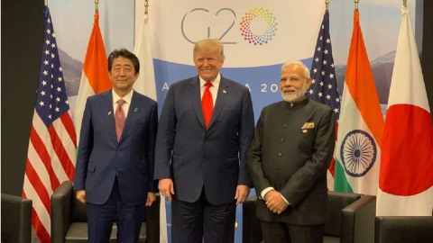 PM offers 'ideas' on Indo Pacific at 1st Trilateral: Prez Trump, Abe compliment Modi