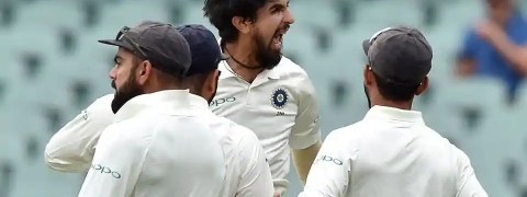 India vs Australia: Ishant dismisses Paine, Australia six down