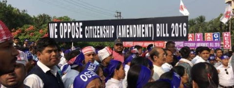 Stir against Citizenship Bill begins in Manipur