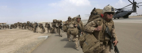 Foreign troops leave Afghanistan in 18 months