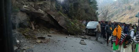 Land slide buries wedding party
