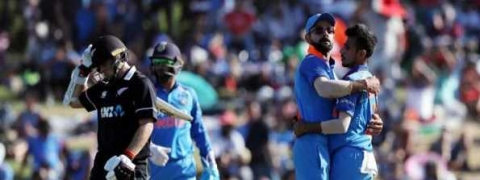 Third ODI: India bowl out Kiwis for 243 runs