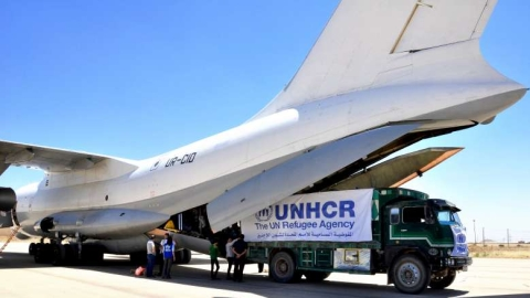 Crucial medical supplies airlifted to NE Syria to meet 'desperate need'