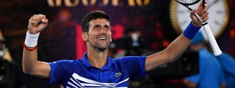Djokovic scripts history at Australian Open 2019