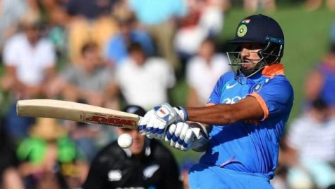 India win by 8 wickets; Half century for Shikar Dhawan