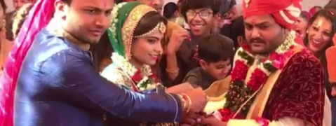 Hardik gets married, to continue fight for people's rights