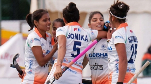 Indian women's hockey team defeat Spain 5-2