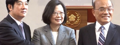 Former leader of Taiwan's Ruling DPP Party appointed new Prime Minister