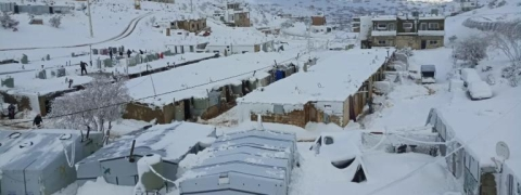 70,000 Syrian refugees threatened by winter storm in Lebanon: UN