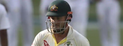 Shaun Marsh is out; Australia at 200/4 after 41 overs