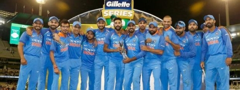 3rd ODI: India beat Australia by 7 wickets; clinch series 2-1