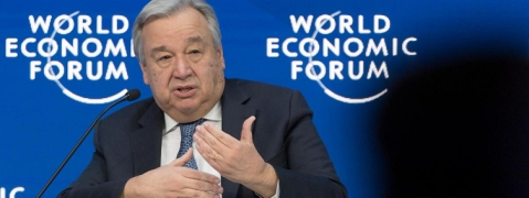 Davos: Need for effective multilateralism, says Guterres