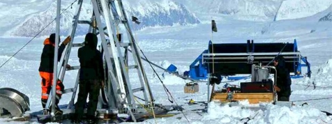 UK team drills record West Antarctic hole