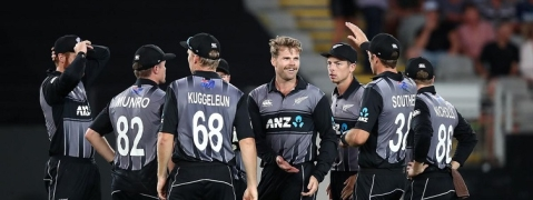 New Zealand name squad for T20I series against India