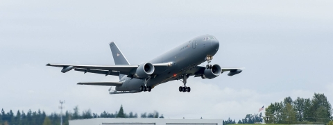 US Air Force accepts first Boeing KC-46A tanker aircraft
