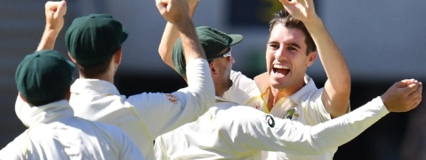 Pat Cummins takes 10 in three-day win for Australia