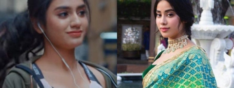 Janhvi Kapoor walks away when asked about Priya Varrier's 'Sridevi Bungalow'