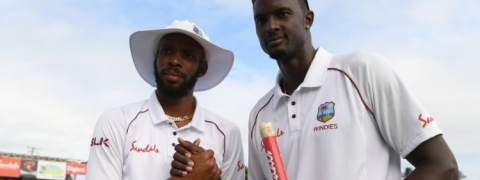 'Jason Holder is a legend in my eyes' : Roston Chase