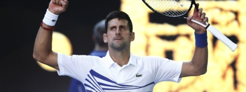 Djokovic takes out teen sensation Shapovalov in Australia Open 3rd round