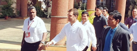 Rahul visits Parrikar in Goa, says 'it was personal'