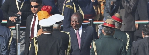South African Prez Ramaphosa joins the special club to witness R-Day Parade
