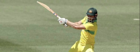 Shaun Marsh piles on runs; Australia at 201/5