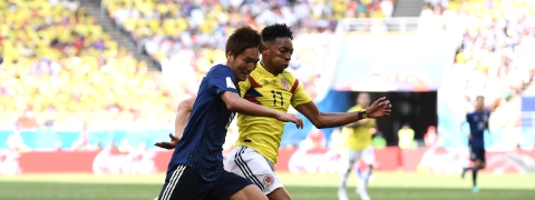 Colombia, Japan to meet in Copa America warm-up
