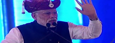 Opposition uniting to save themselves, BJP uniting the nation: Modi on Mamata's rally