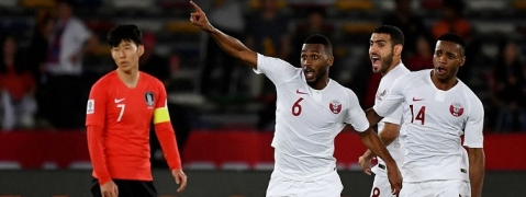 AFC Asian Cup: Qatar stun S. Korea, UAE edge Australia in quarters
