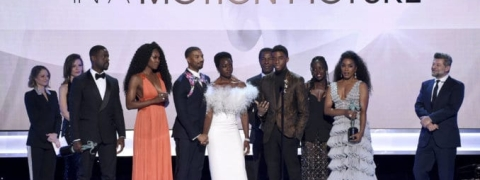 """Black Panther"" wins top film award at 25th Annual Screen Actors Guild Awards"