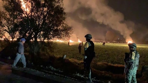 Pipeline explosion in Mexico: 20 killed, 54 injured