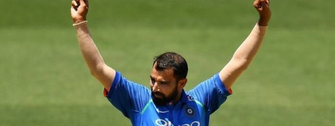 Ind vs NZ: Mohammed Shami becomes fastest Indian to take 100-wkt in ODIs
