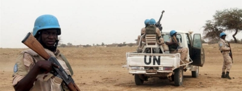 Two peacekeepers killed in an attack against UN convoy in Mali