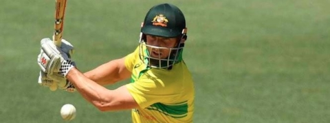 Adelaide ODI: Shaun splendid century guides Australia to post 299 against India