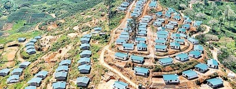Sri Lanka : India-built 155 new houses handed over to plantation workers
